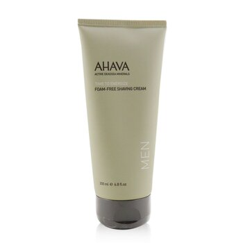 Ahava Time To Energize Foam-Free Shaving Cream 200ml/6.8oz