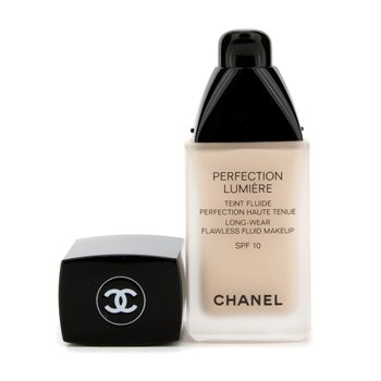 Chanel Perfection Lumiere Long Wear Flawless Fluid Make Up SPF 10 - # 12 Beige Rose  30ml/1oz