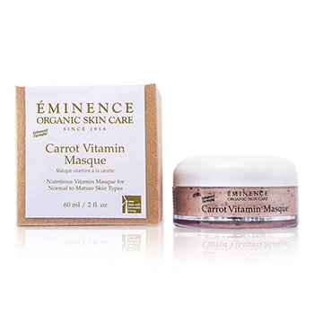 Eminence Mascarilla Vitaminada Zanahoria  (Piel Normal/Madura)  60ml/2oz