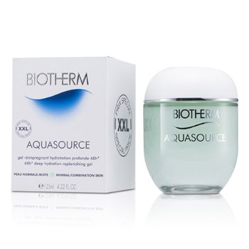 BiothermGel Hidratante Aquasource 48H Deep Replenishing (Pele Normal � Mista) 125ml/4.22oz