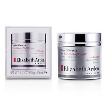 Elizabeth ArdenCreme Noturno Visible Difference Skin Balancing (Pele Mista) 50ml/1.7oz