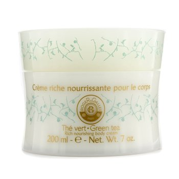 Roger & Gallet Green Tea (The Vert) Rich Nourishing Body Cream  200ml/7oz