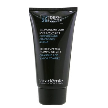 Derm Acte Gentle Soap-Free Foaming Gel pH5 150ml/5oz