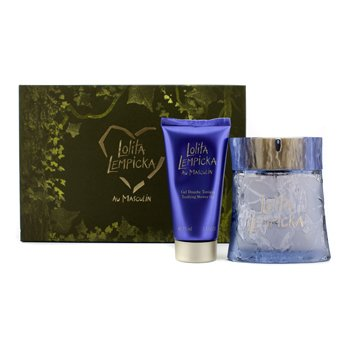 Lolita Au Masculin Coffret: Eau De Toilette Spray 100ml/3.4oz + Gel de Ducha Tonificante 75ml/2.5oz  2pcs
