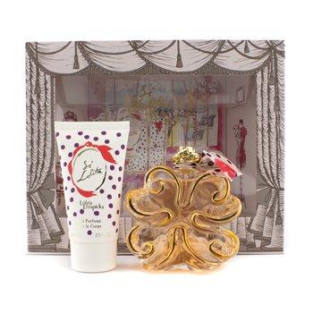 Lolita LempickaSi Lolita Coffret: parfemska voda u spreju 80ml/2.7oz + losion za tijelo 75ml/2.5oz 2pcs