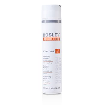 Bosley Professional Strength Bos Revive Nourishing Shampoo (For Visibly Thinning Color-Treated Hair)  300ml/10.1oz
