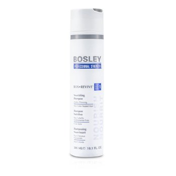 Bosley Professional Strength Bos Revive Nourishing Shampoo (For Visibly Thinning Non Color-Treated Hair)  300ml/10.1oz