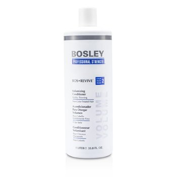 Bosley Professional Strength Bos Revive Volumizing Conditioner (For Visibly Thinning Non Color-Treated Hair)  1000ml/33.8oz