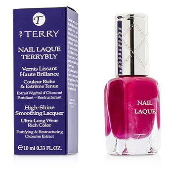 By Terry Nail Laque Terrybly High Shine Smoothing Lacquer – # 2 Pink Pong 10ml/0.33oz