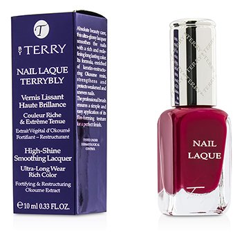 By Terry Nail Laque Terrybly High Shine Smoothing Lacquer – # 3 Famous Fuchsia 10ml/0.33oz