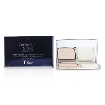 Christian Dior Diorskin Nude Compact Nude Glow Versatile Powder Makeup SPF 10 - # 010 Ivory  10g/0.35oz