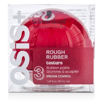 SchwarzkopfOsis+ Rough Rubber Texture Rubber Paste (Fuerte Control) 50ml/1.69oz