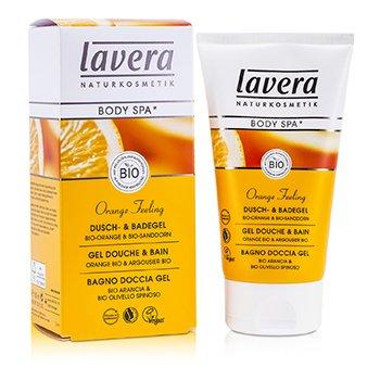 LaveraBody SPA - Shower & Bath Gel Orange Sea Buckthorn 150ml/5oz