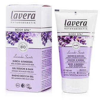 LaveraBody SPA - Shower & Bath Gel Lavender - Aloe Vera 150ml/5oz