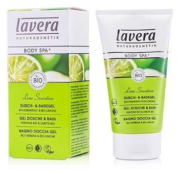 LaveraBody SPA - Shower & Bath Gel Vervain - Lime 150ml/5oz