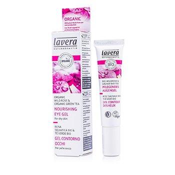 Lavera Organic Wild Rose Nourishing Eye Gel - For Dry Skin  15ml/0.5oz