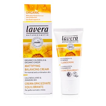 LaveraMattifying Balancing Cream - Organic Calendula (For Normal & Combination Skin) 30ml/1oz
