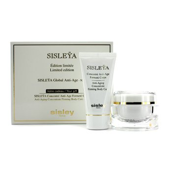 SisleySet Sisleya: Crema Antienvejecimiento Global Sisleya 50ml + Concentrado Reafirmante Corporal Antienvejecimiento Sisleya 50ml 2pcs