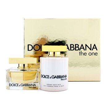 Dolce & GabbanaEstuche The One: Eau De Parfum Vap. 50ml/1.6oz + Crema Ba�o 200ml/6.7oz 2pcs