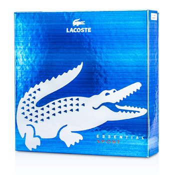 LacosteLacoste Essential Sport Coffret: Eau De Toilette Spray 125ml/4.2oz + Desodorante en Barra 75ml/2.4oz 2pcs