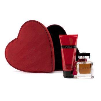 Lalique Estuche Le Parfum: Eau De Parfum Vap. 50ml/1.7oz + Crema Corporal 100ml/3.3oz  2pcs