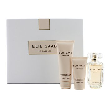 Elie Saab Le Parfum Coffret: Eau De Toilette Spray 50ml/1.6oz + Body Lotion 75ml/2.5oz + Shower Cream 30ml/1oz  3pcs