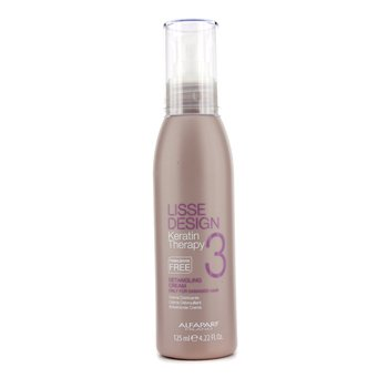 AlfaParf Lisse Design Keratin Therapy Crema Desenredante - Cabello Da�ado (Tama�o Sal�n)  125ml/4.22oz