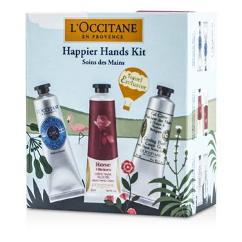 L'OccitaneSet Manos Happier: Crema Manos Manteca Shea 2x30ml + Crema Manos Aterciopelada 2x30ml + Crema Manos Refrescante 2x30ml 6pcs