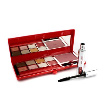 Pupa Haute Couture Palette A Porter - (Red Mix) # 01 Bon Ton Shades 16.9g/0.6oz