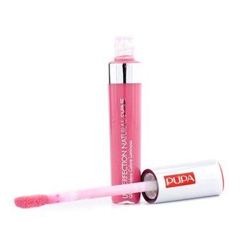 Pupa Lip Perfection Natural Shine Hi Shine Colour Lip Gloss - # 02 (Baby Pink)  7ml/0.24oz