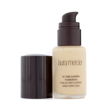 Laura Mercier Oil Free Supreme Foundation - Warm Ivory  30ml/1oz