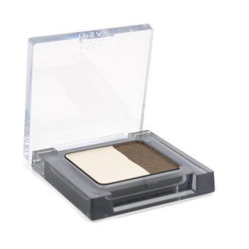 Ipsa Eye Color Contrast - #03 (Champagne Ivory & Glitter Brown)  1.8g/0.06oz