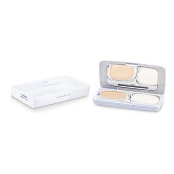 IpsaCompacto L�quido Protector Puro SPF20 con estuche - #100 (Light Color In Ochre Tone) 12g/0.42oz
