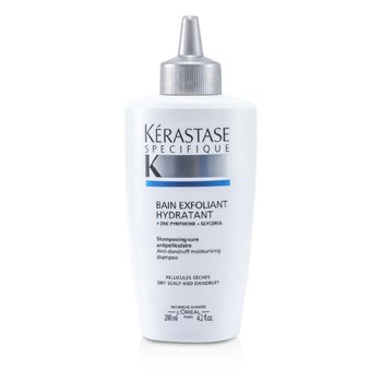 Kerastase Specifique Bain Exfoliant Hydratant Anti-Dandruff Moisturising Shampoo (For Dry Scalp)  200ml/4.2oz