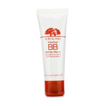 OriginsCreme hidratante Vitazing BB Revitalizing Cream With Mangosteen SPF 35 PA+++ Light Warm 50ml/1.7oz