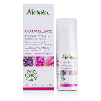 Melvita Bio-Excellence Eye Contour Gel 8E2817  15ml/0.5oz