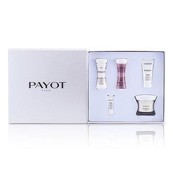 PayotLes Sensitives Creme Douce Riche Set: Cream 50ml + Cleanser 30ml + Lotion 30ml + Masque 15ml + Serum 5pcs
