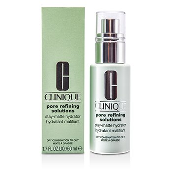 CliniquePore Refining Solutions Stay-Matte Hydrator (Dry Combination to Oily) 50ml/1.7oz