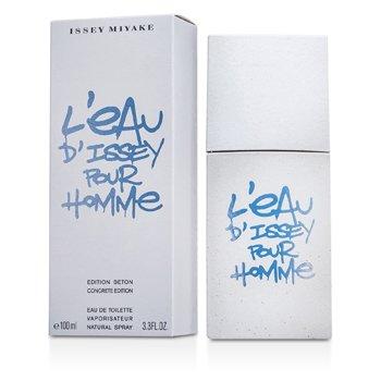 Issey Miyake L'Eau d'Issey Pour Homme Eau De Toilette Spray (Concrete Edition) 100ml/3.3oz