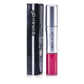 GloMinerals Perfect Lip Duo (Lipstick & Gloss) - Pink 2pcs