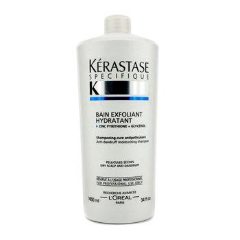 KerastaseSpecifique Bain Exfoliant Hydratant Champ� Hidratante Anti Caspa (Cueros Cabelludos Secos) 1000ml/34oz
