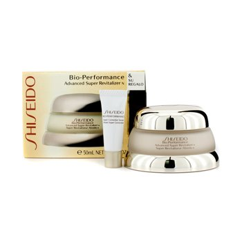 Shiseido Bio Performance Set: Advanced Super Revitalizer Cream N 50ml + Super Corrective Serum 2ml  2pcs