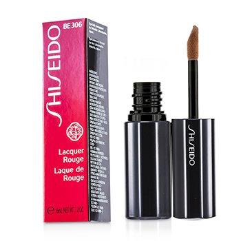 Shiseido Lacquer Rouge - Pewarna Bibir - # BE306 (Carmel)  6ml/0.2oz