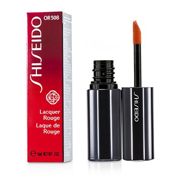 Shiseido Lacquer Rouge Pintalabios - # OR508 (Blaze)  6ml/0.2oz