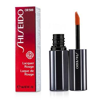 Shiseido Lacquer Rouge Pintalabios - # OR508 (Blaze)  6ml/0.2oz