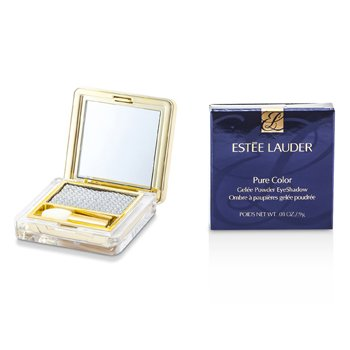 Estee Lauder Pure Color Gelee Powder Eye Shadow - #04 Cyber Sliver (Metallic)  9g/0.03oz