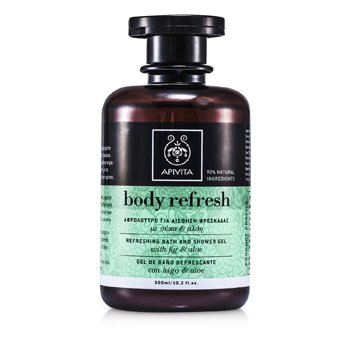 Apivita Body Refresh Gel de Ba�o y Ducha Refrescante  300ml/10.2oz