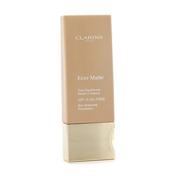 Clarins Ever Matte Skin Balancing Base Maquillaje Libre Aceites SPF 15 - # 113 Chestnut  30ml/1.1oz