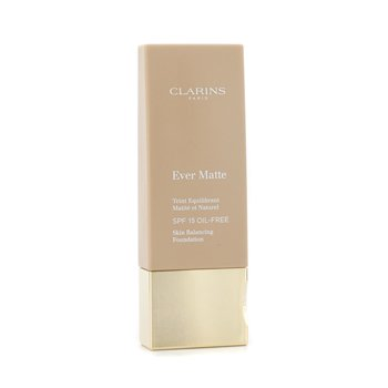 Clarins Ever Matte Skin Balancing Oil Free Foundation SPF 15 - # 114 Cappuccino 30ml/1.1oz