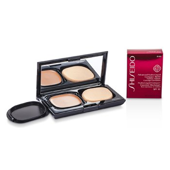Shiseido Advanced Hydro Liquid Compact Foundation SPF10 (Case + Refill) - B100 Very Deep Beige  12g/0.42oz